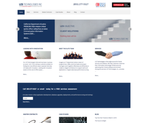 LCS Technologies, Inc. Home Page Image