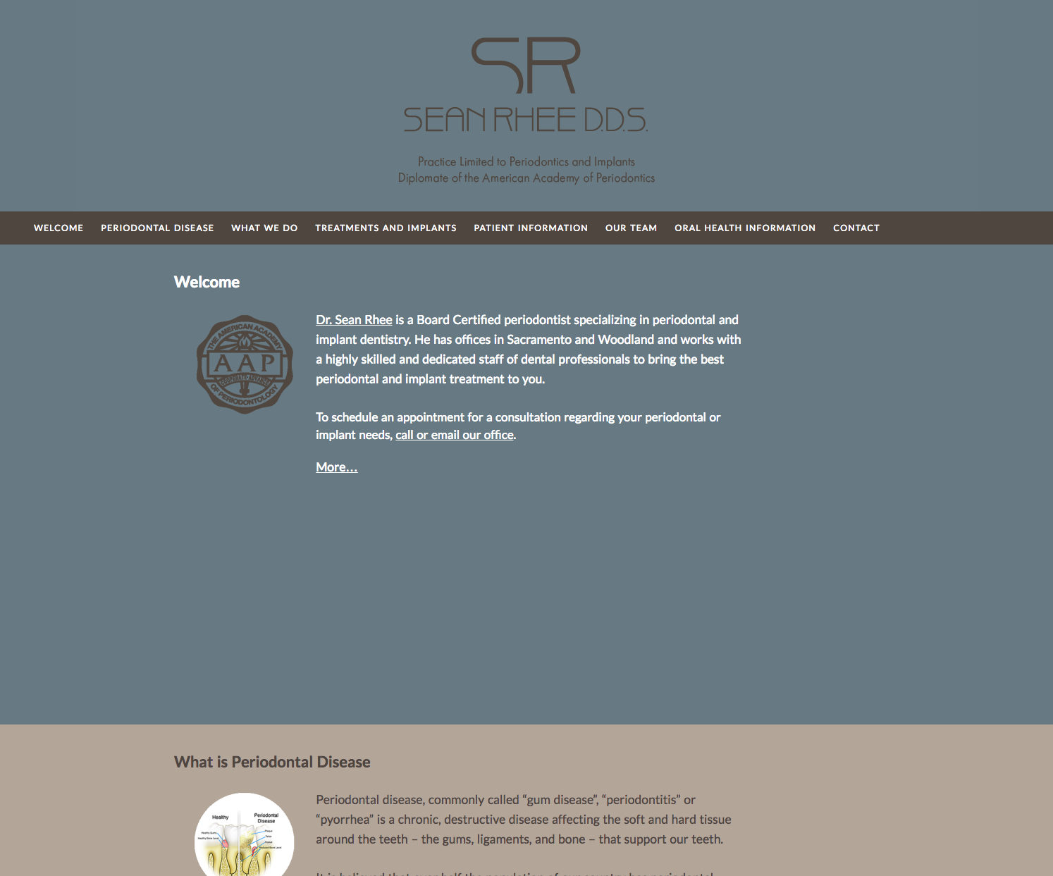 SR Periodontics and Implants Home Page Image