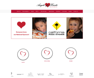 Angels for Hearts Home Page Image