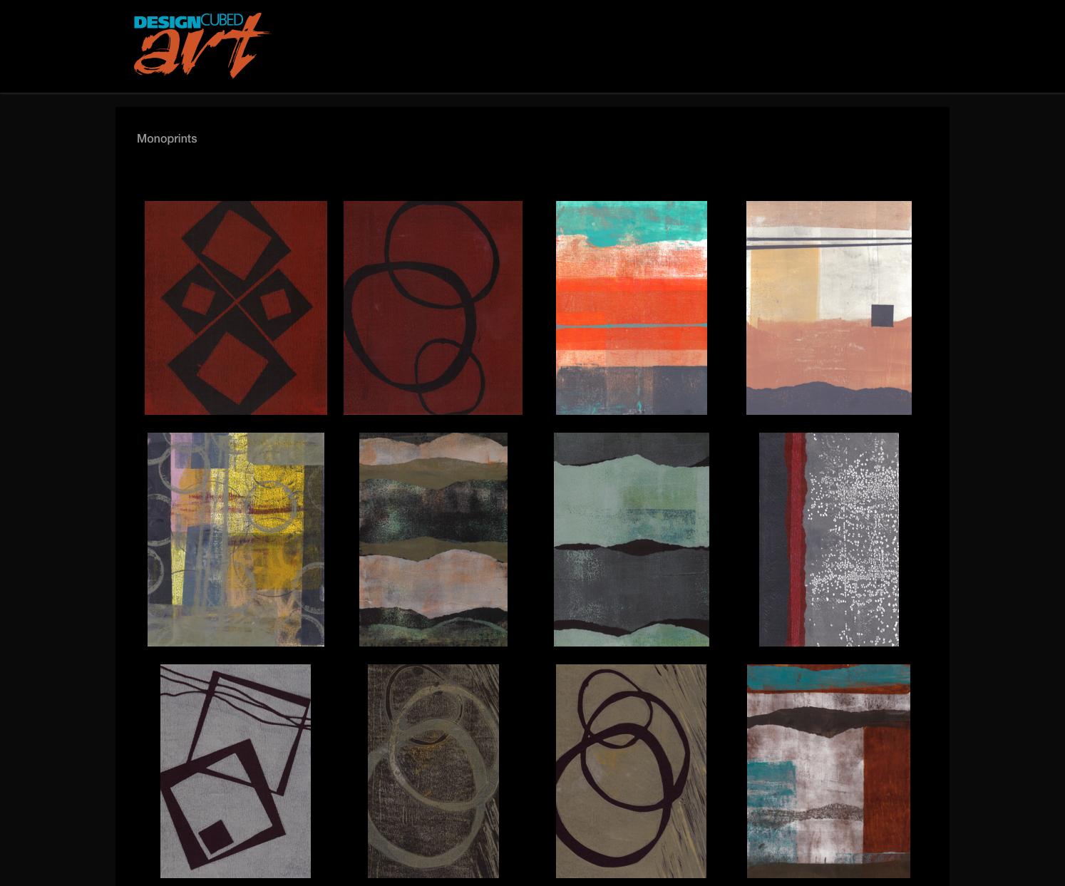 Design Cubed Art Home Page Image